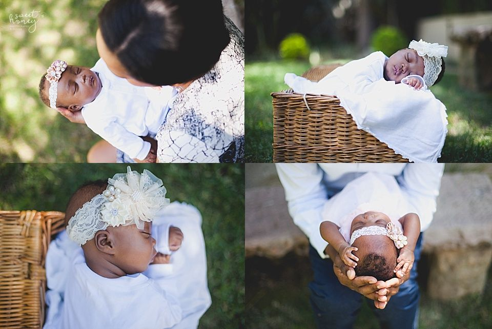 Newborn Photoshoot - Sweet Honey