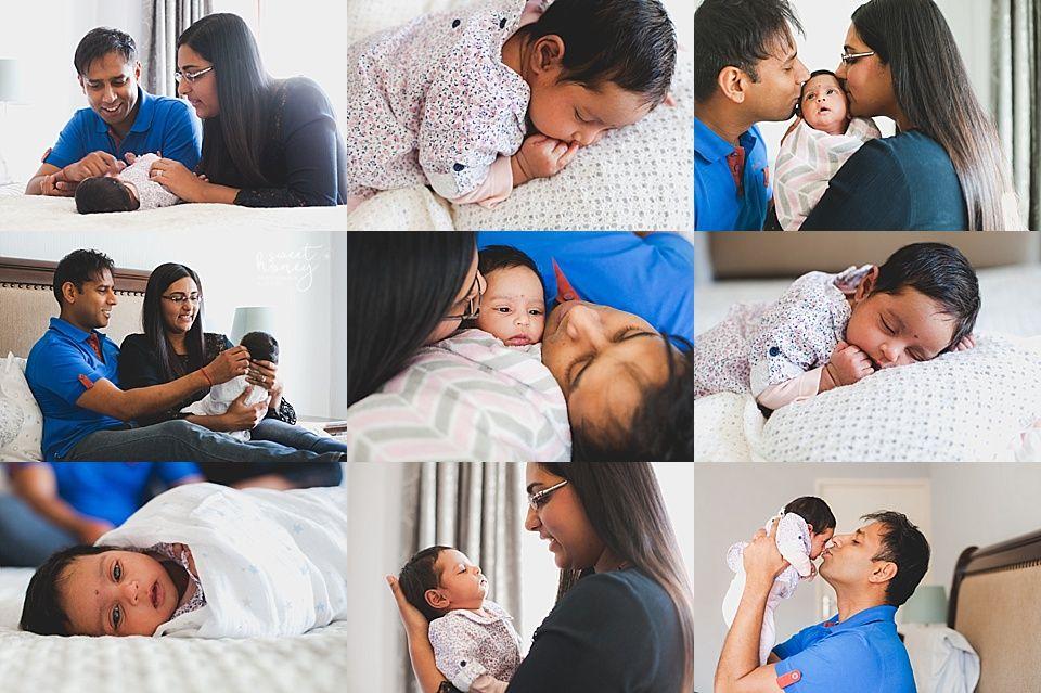 Newborn Shoot Photographer - Sweet Honey